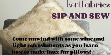 Kent Fabrics Sip and Sew tickets