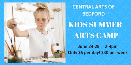 Central Arts of Bedford Kids Summer Arts Camp tickets
