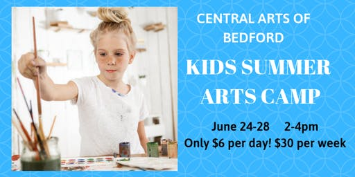 Central Arts of Bedford Kids Summer Arts Camp