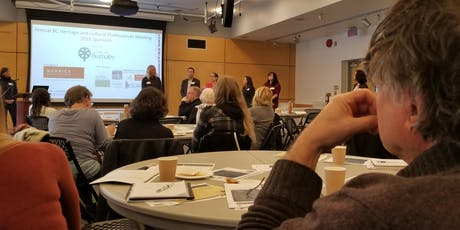 2019 Annual BC Heritage Professionals Meeting tickets