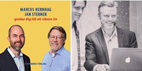 Investerarmötet 24 juni med börsgiganten Marcus Hernhag & serieentreprenören Johan Staël von Holstein! tickets
