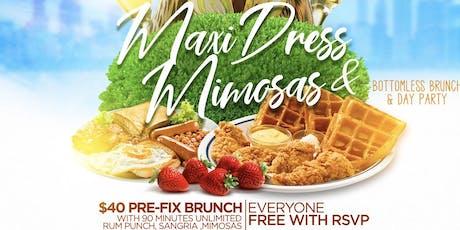 Maxi dress & Mimosa affair  tickets