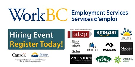 WorkBC Job Fair - Construction, Retail & Manufacturing Industry tickets