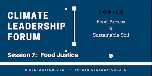 Leadership Forum Session 7: Food Justice
