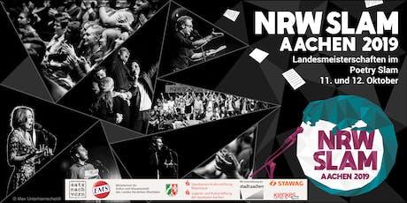 NRW Slam 2019 - Vorrunde 4 Tickets