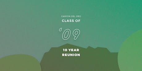 CDO Class of '09, Ten Year Party tickets
