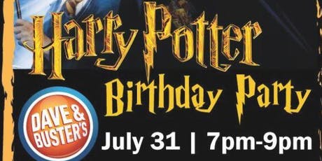 Harry Potter's Birthday Party at Dave & Buster's Richmond! tickets