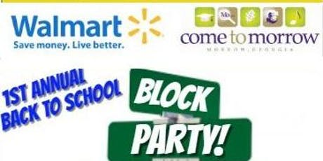 Morrow's 1st Annual Back to School Block Party presented by Walmart tickets