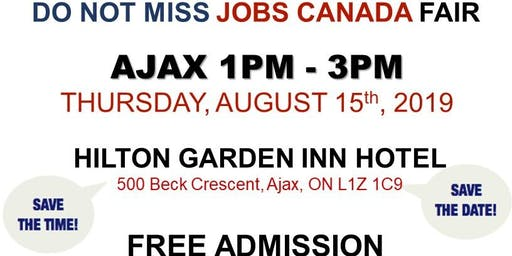 AJAX JOB FAIR - August 15th, 2019