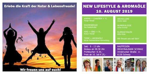 Erlebe die Kraft der Natur & Lebensfreude pur! - New Lifestyle & Aromaöle