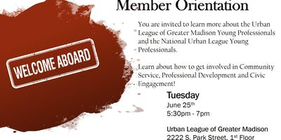 Madison Urban League YP Welcome Orientation