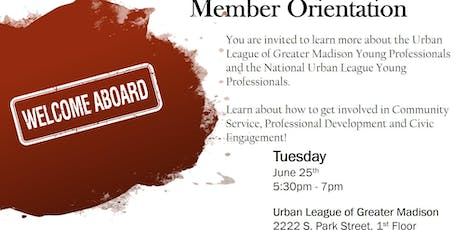Madison Urban League YP Welcome Orientation tickets