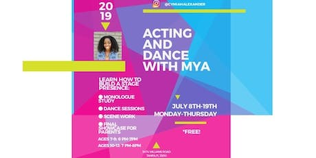 Acting and Dance with Mya! tickets