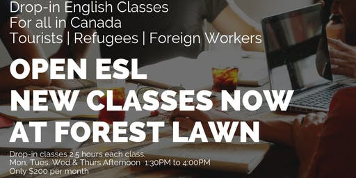 English Classes (Free and Affordable options) for Foreign speakers