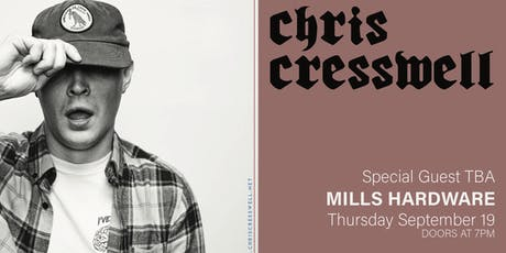 Chris Cresswell + Chuck Coles + Luke Bentham tickets