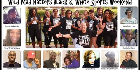 "PZAZZ 5TH EXTRAVAGANZA ""WILD MAD HATTERS BLACK & WHITE SPORTS WEEKEND"" tickets"
