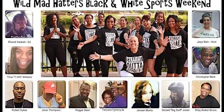 "PZAZZ 5TH EXTRAVAGANZA ""WILD MAD HATTERS BLACK & WHITE SPORTS WEEKEND"" tickets"