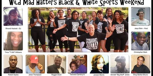 "PZAZZ 5TH EXTRAVAGANZA ""WILD MAD HATTERS BLACK & WHITE SPORTS WEEKEND"""