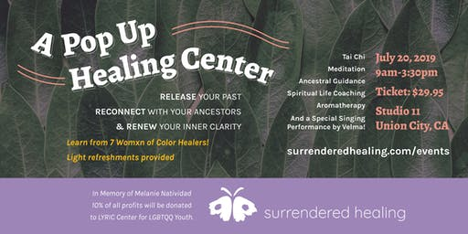 Release, Reconnect, & Renew: A Pop Up Healing Center