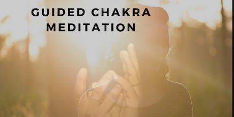 Guided Chakra Mediation tickets