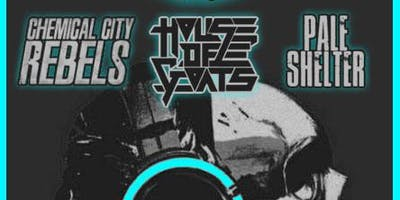 Chemical City Rebels, H.O.G., Pale Shelter and Swamp Stank in The Deck Room