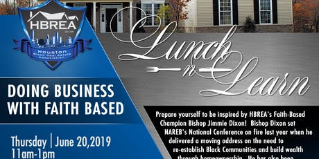 HBREA JUNE LUNCH and LEARN tickets