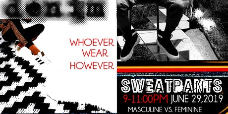 Beauty Vs. Brawn: Denim & Sweatpants COED VENDOR SHAKEDOWN tickets