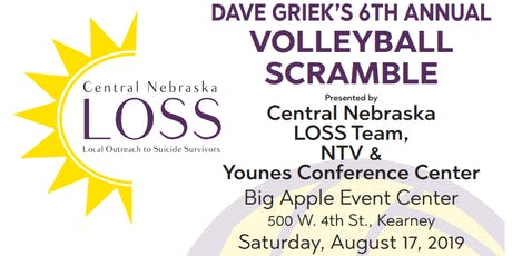 Dave Griek's 6th Annual LOSS Volleyball Scramble tickets