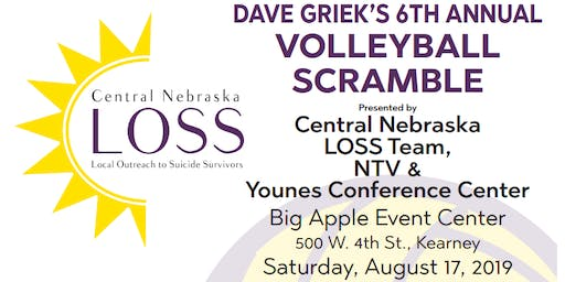 Dave Griek's 6th Annual LOSS Volleyball Scramble