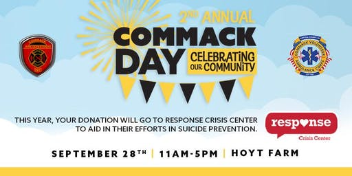 2nd Annual Commack Day - All Ages Are Welcome (Rain Date September 29th)