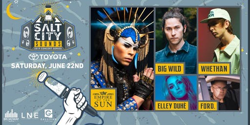 EMPIRE OF THE SUN at Salt City Sounds Concert Series 2019