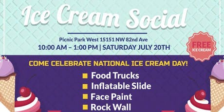 2019 Ice Cream Social  tickets