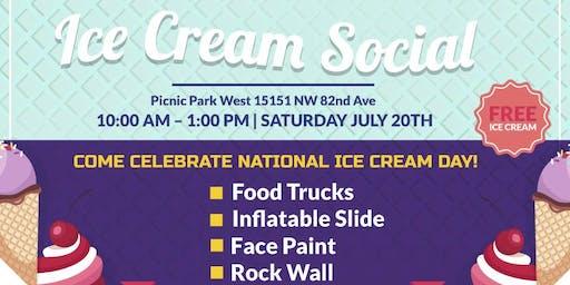2019 Ice Cream Social
