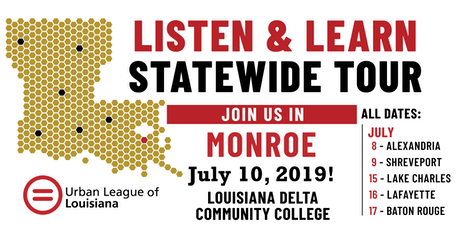 Listen and Learn Monroe tickets