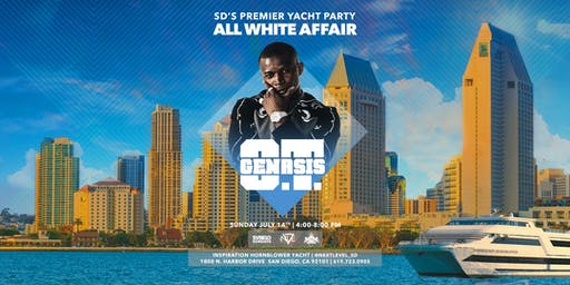 San Diego's Premier Yacht Party: An All White Affair w/O.T. Genasis