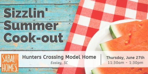 Sizzlin' Summer Cook-Out at Hunters Crossing