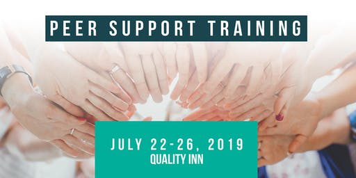 ND Peer Support Specialist Training - July 22-26