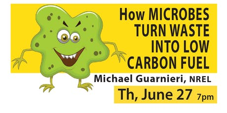 How Microbes Convert Gaseous Waste into Fuels & Chemicals tickets