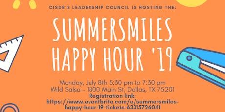 SummerSmiles Happy Hour '19 tickets
