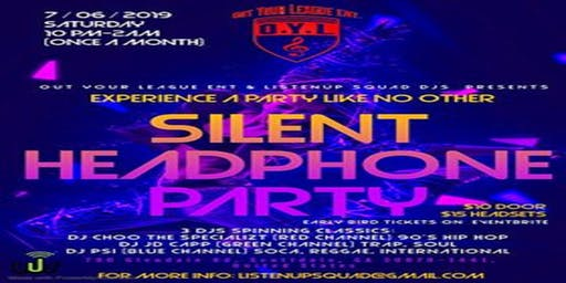 Out Your League Silent DIsco Party