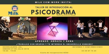 PSICODRAMA, TALLER DE INTRODUCCIÓN boletos