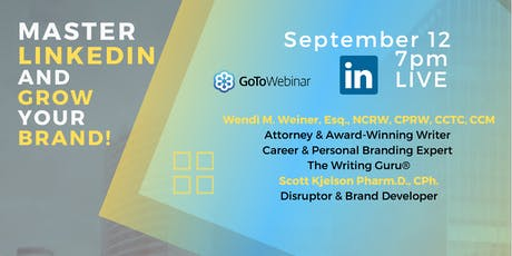 MASTER LINKEDIN AND GROW YOUR BRAND tickets