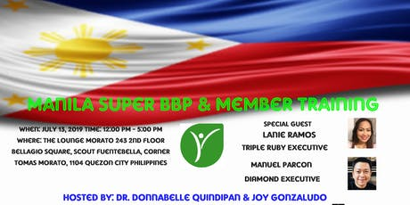 Manila Super BBP & Member Training tickets