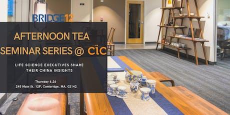 BRIDGE12 Afternoon Tea Seminar Series @ CIC tickets
