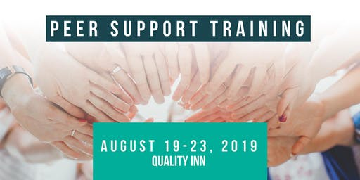 ND Peer Support Specialist Training - August 19-23