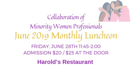 Join CMWP for our Monthly Networking Luncheon! tickets