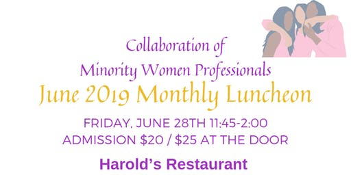 Join CMWP for our Monthly Networking Luncheon!