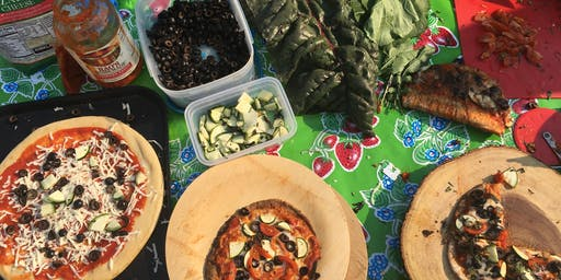 2nd Saturday: Garden Art & Pizza Party!