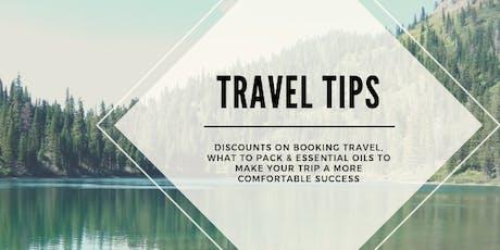 Travel & Essential Oils tickets
