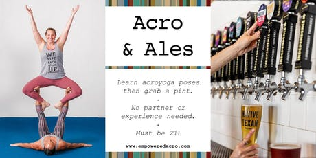 Acro & Ales: Independence Brewing tickets